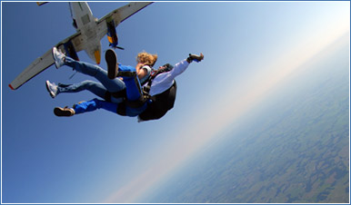 Your First Skydive in Santa Ana