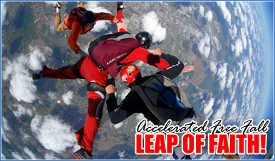 Skydiving in Santa Ana California