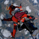Skydiving in Orange